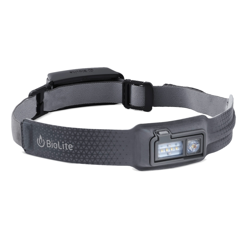 BioLite - HeadLamp 330, Stirnlampe mit 330 Lumen - grey