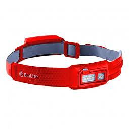 BioLite - HeadLamp 330, Stirnlampe mit 330 Lumen - red